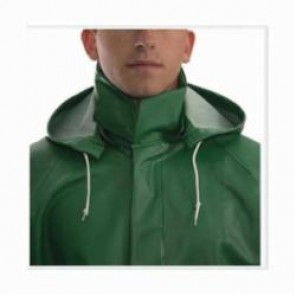 Tingley Safetyflex® H41108-LG Detachable Hood, L, Green, Specialty PVC on 150D Polyester