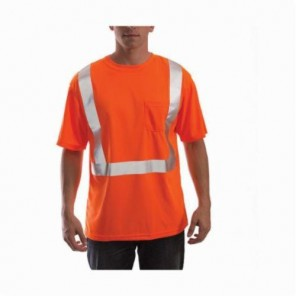 Hi Viz Fluorescent Orange Red