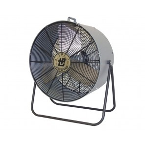 "FLOOR MINI-BLOWER, Fan Dia.: 24"", CFM High: 6800, CFM Low: 5000, AMPS: 2.2"