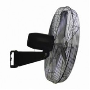 TPI CACU 24-WO Standard Oscillating Fan, 24 in Blade, 3200 cfm High, 3000 cfm Medium, 2800 cfm Low, 120 VAC, 1.45/1.15/1.1 A