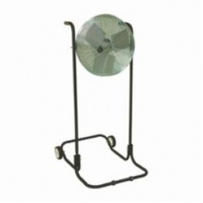TPI F18HTE High Stand Workstation Floor Fan, 18 in Blade, 3200/4200/4600 cfm, 120 VAC, 2.2 A