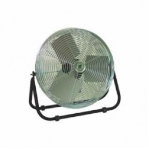 TPI F24TE Standard Workstation Fan, 24 in Blade, 2100 cfm High, 1900 cfm Medium, 1600 cfm Low, 120 VAC, 2.4 A