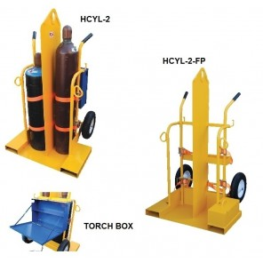 WELDING CYLINDER TORCH CARTS, Wheel Type: Pneumatic, Fire Protection: No