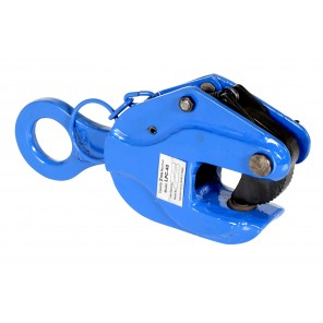 "POSITIVE LOCKING PLATE CLAMPS, Max. Plate Thickness: .80"", Working Load Limit (lbs.): 2000, Throat Depth: 2.3"", Bale Opening: 1.9"""