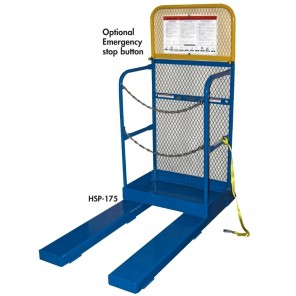 "STOCK PICKER WORK PLATFORM, Cap. (lbs.): 4000, Size W x L x H: 30 x 20 x 60"", Platform Height: 4"""