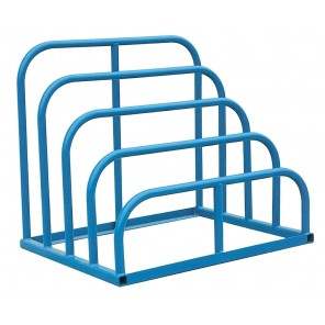 "VARIABLE HEIGHT SHEET RACK, Cap. (lbs.)/Bay: 1500, No. of Bays: 4, Distance Between Bays: 6-7/8"", Size W x D x H: 47 x 36 x 40"""