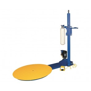 "POWERED STRETCH WRAP MACHINES, Turntable Dia.: 70"", Turntable Height: 2-3/16"", Uniform Cap. (lbs.): 4000, Max. Load Height: 82"""