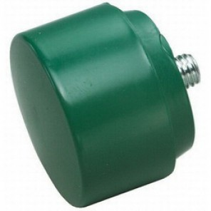 Williams® HSF-25T Heavy Duty Soft Face Hammer Tip, 2-1/2 in, Tough, Green