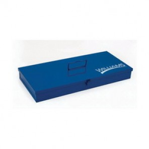 Williams® TB-101 Socket Set Toolbox, 1-1/2 in H x 10 in W x 7 in D, 22 ga THK, Cold Rolled Steel