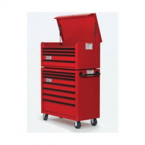 Williams® W40TC4 Professional Top Chest, 19-7/16 in H x 40-1/32 in W x 19-13/16 in D, Aluminum Handle/Steel Drawer