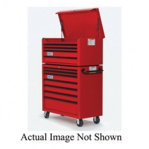 Williams® W40TC4BL Professional Top Chest, 19-7/16 in H x 40-1/32 in W x 19-13/16 in D, Aluminum Handle/Steel Drawer