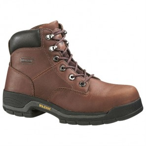 "Men's Wolverine Harrison Lace-Up Steel-Toe EH 6"" Work Boot"