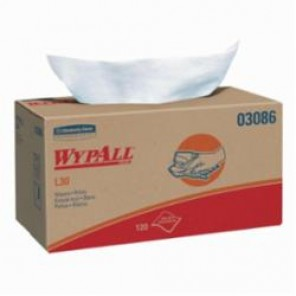 WypAll; 03086 Exceptional Performance General Purpose Wiper, 9.8 in W, 120 Wipes, DRC, White