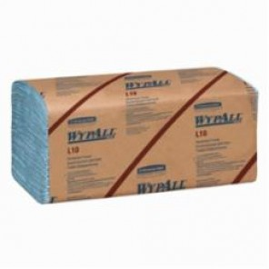 WypAll; 05120 Windshield Towel, 9.3 in W, 140 Wipes, Paper, Blue