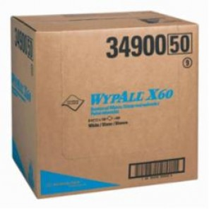 WypAll; 34900 Light Weight General Purpose Wiper, 12-1/2 in W, 150 Sheets, Hydroknit®, White